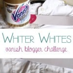 Whiter Whites Blogger Challenge #vanishgoldforwhites