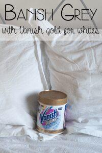 Banish Grey with Vanish Gold for Whites