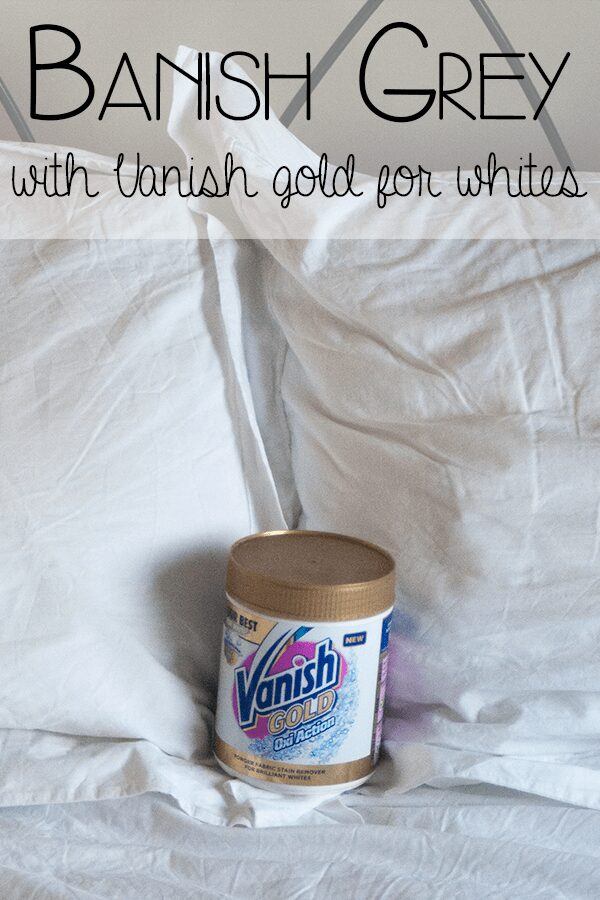 Banish Grey with Vanish Gold for Whites