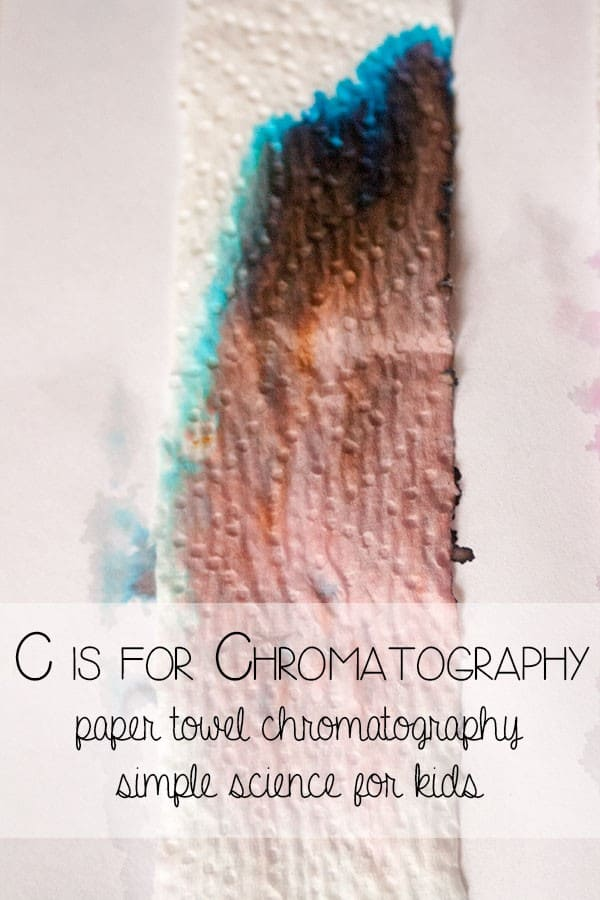 Paper Towel Chromatography - A to Z of science for kids