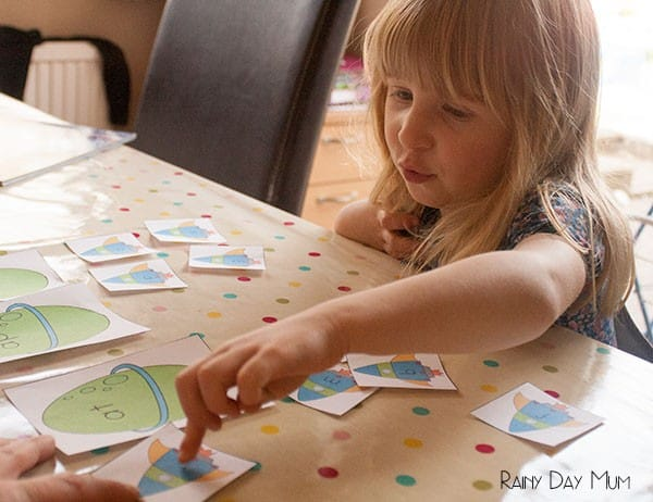 Rocket Landings word family game for blending beginning sounds and common endings - FREE Printable