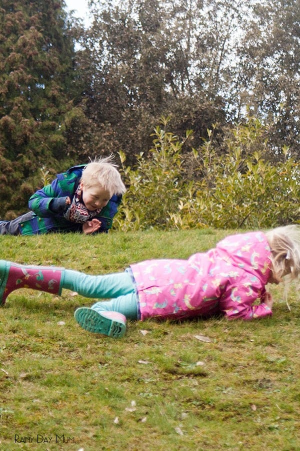A natural childhood - good old fashioned fun and the importance of these activities for children's physical development