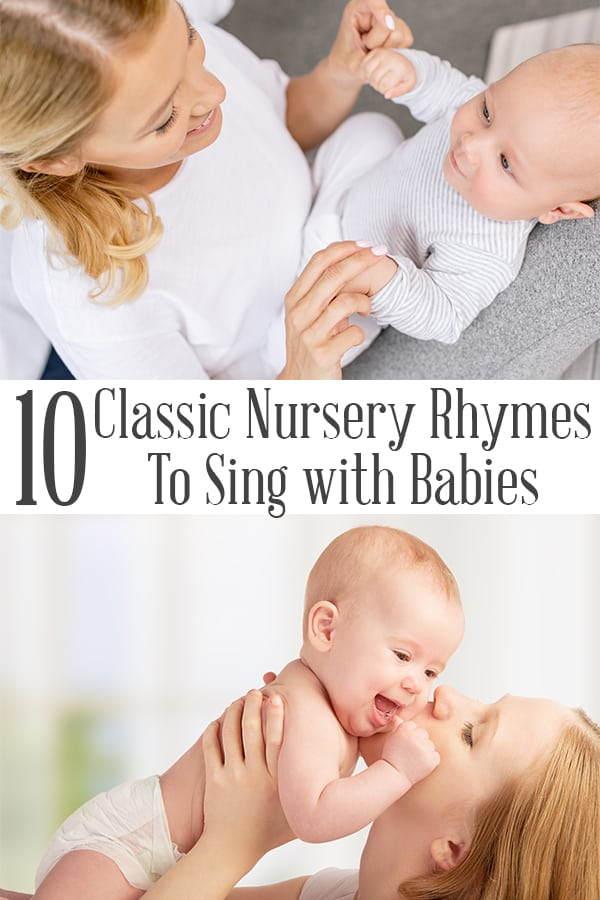 Baby rhymes and baby songs to sing together