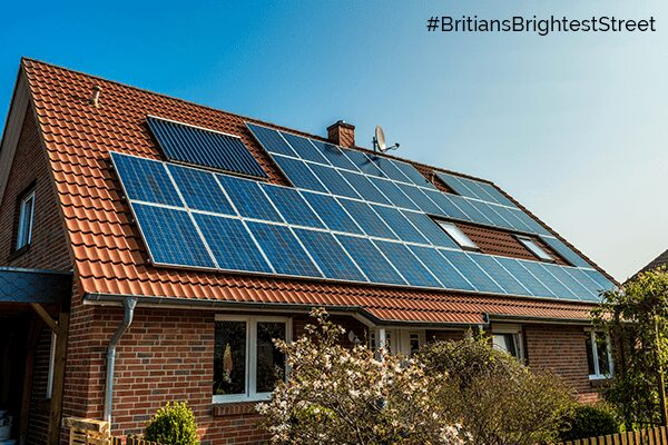 Be Street Smart with Solar and become #BritiainsBrightStreet with SunEdison Solar Energy