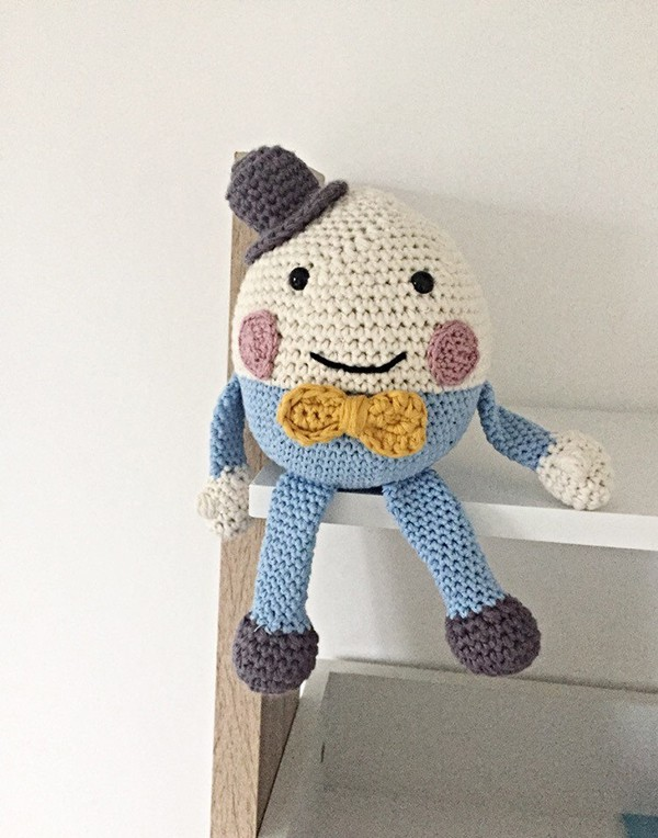 Humpty Dumpty Crochet Keep Safe for Babies and Toddlers