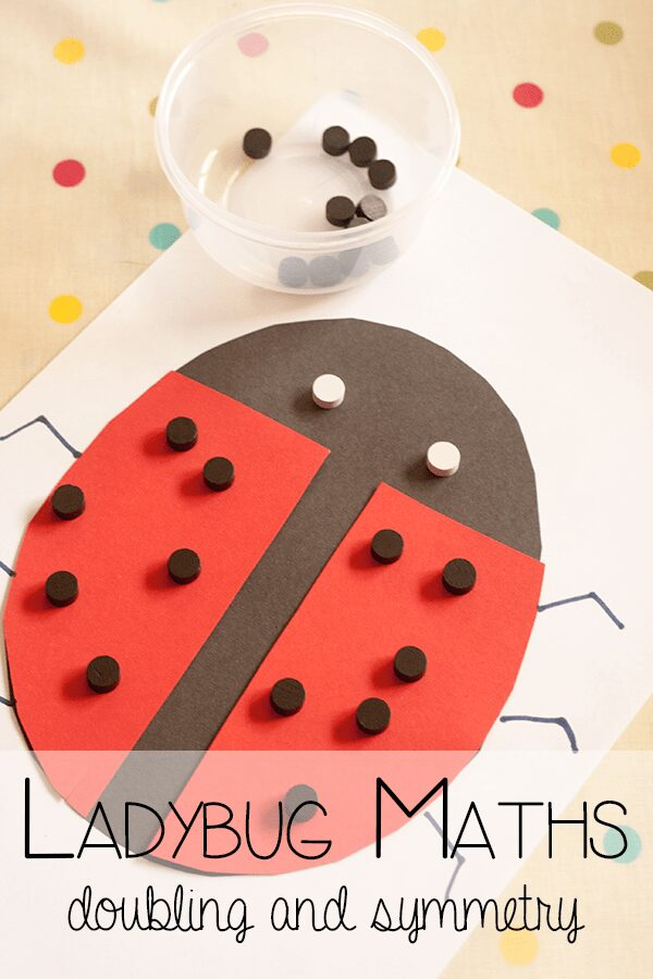 Ladybug Maths - Symmetry and Doubling