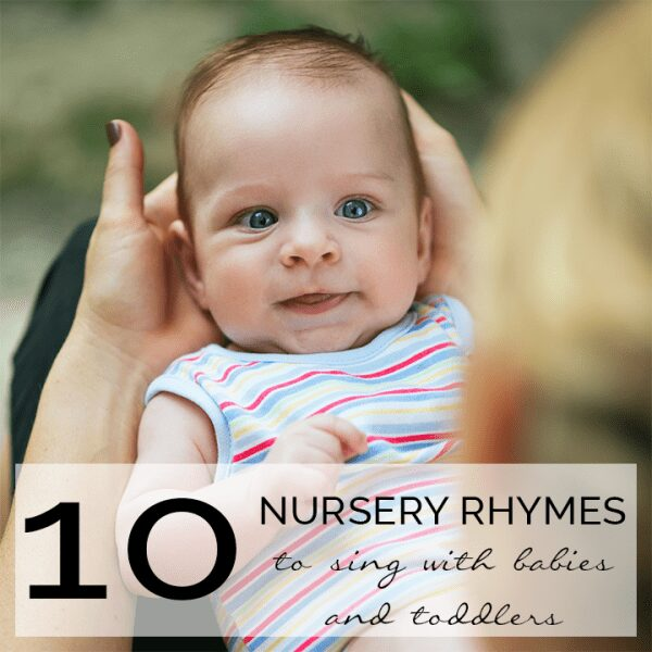 10 Classic Nursery Rhymes to sing with babies and toddlers. Includes full lyrics for each rhyme as well as a selection of activities related to the rhymes. These classic songs are perfect for singing together.