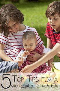 Make your summer picnics this year ones to remember even with kids when you follow our 5 top tips for successful summer picnics with kids plus a free picnic guide to download