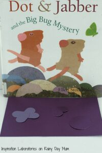 Investigating Insect Camouflage with the favourite children's storybook Dot & Jabber and the Big Bug Mystery by Ellen Stoll Walsh