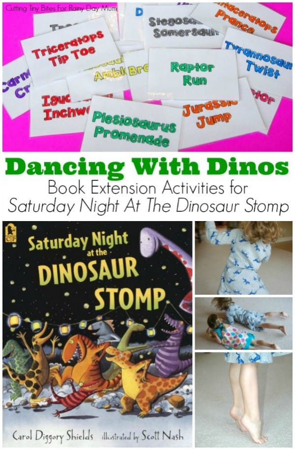 Get moving with Saturday Night at the Dinosaur Stomp and these fun activities to bring a fun children's storybook alive this Summer.