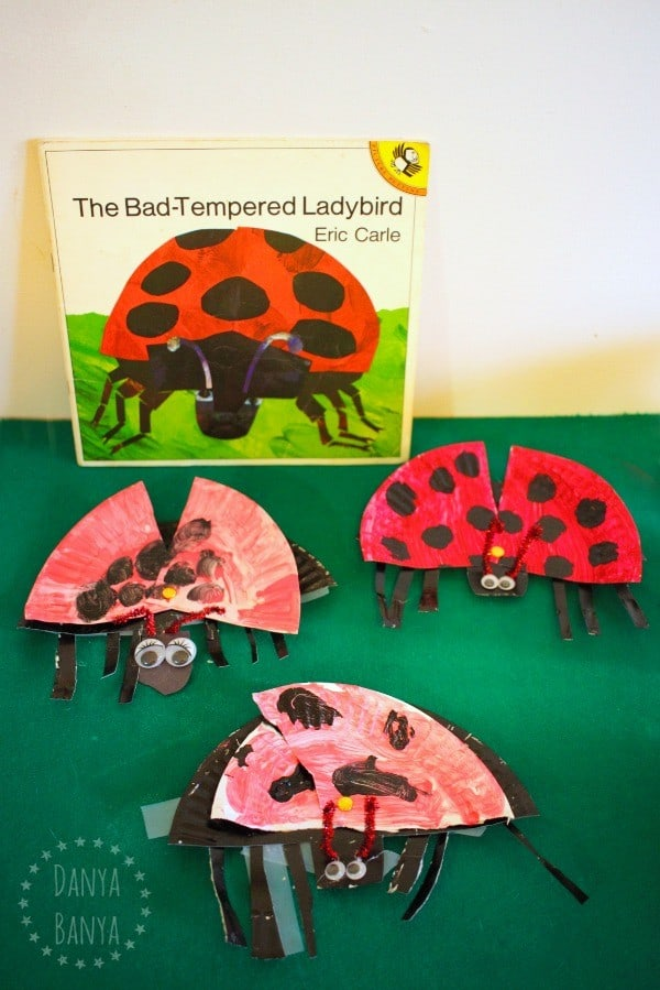 The Bad Tempered Ladybird craft for kids