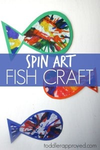 Spin Art Fish
