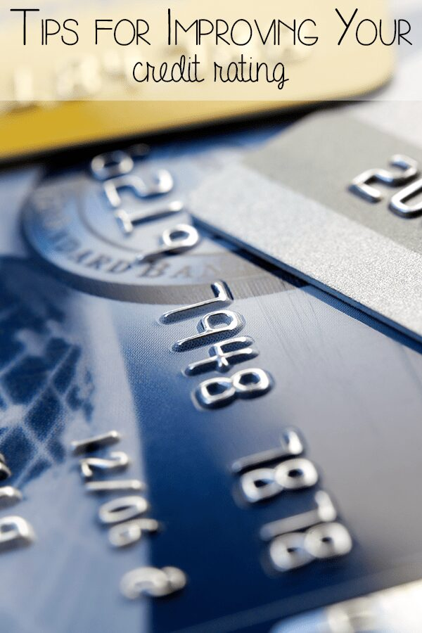 Tips for improving your credit rating from finding our, to dealing with the problems so that you can get debt free.