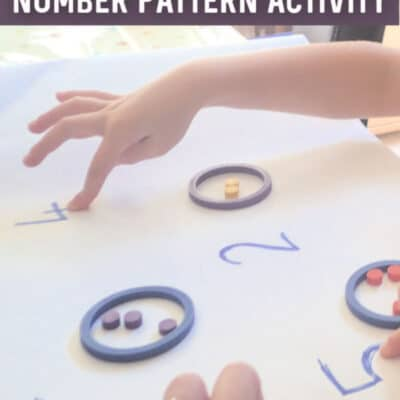 Regular Arrangement of Objects Number Pattern Recognition Activity For Preschoolers Inspired by Mouse Count