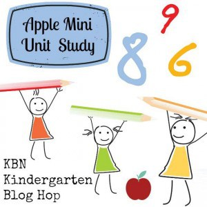 apple mini unit study for Kindergarten's