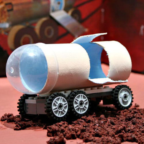 DIY Mars Perseverance Rover Craft for Kids