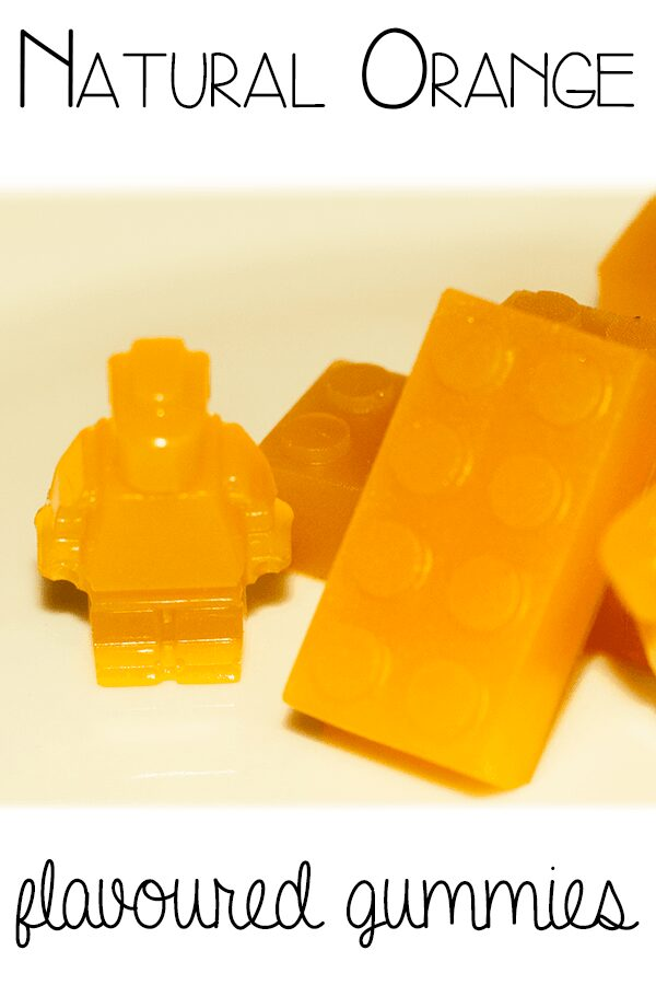 Natural Orange Flavoured Gummies recipe with no refined sugar, or artificial flavourings or colours. Ideal for a sweet after-school treat for the kids