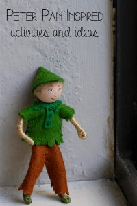 Activities and ideas inspired by the classic children's storybook Peter Pan