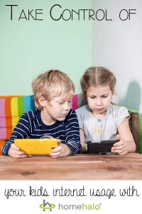 Take control of your kids internet usage with HomeHalo