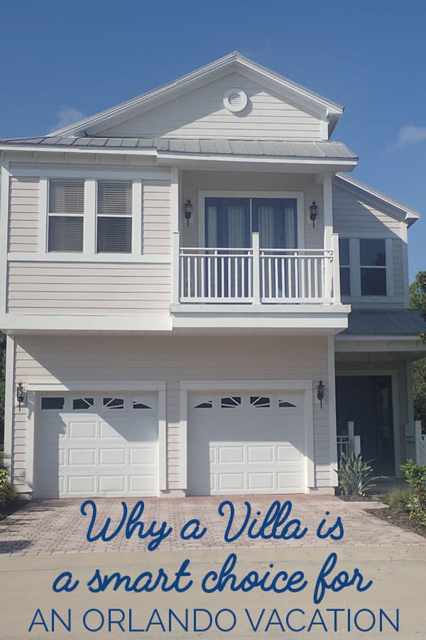 Why a villa or vacation home is the smart choice for a family Orlando Vacation and why to choose it over a hotel or motel.