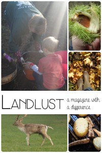 Spirit of the countryside - brand new magazine launched in the UK Landlust which covers country life as well as including crafts, recipes and family life