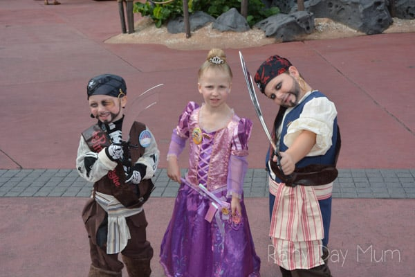 Making Magical Birthday Memories with Disney - creating memories that will last a lifetime for every little Princess and Pirate