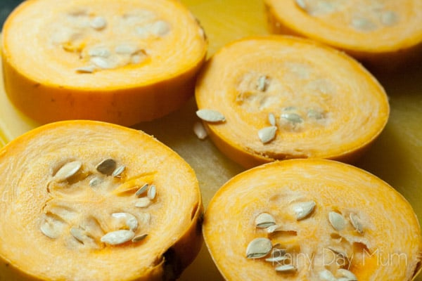 Simple Spaghetti Squash recipe ideal for a warming comfort food lunch.