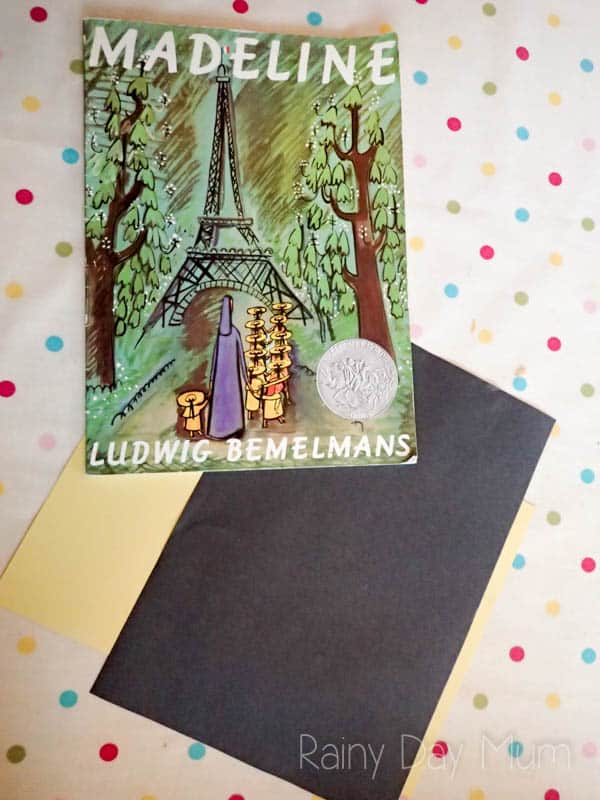 Skip Counting and Subitizing activity for Preschoolers inspired by the book Madeline by Ludwig Bemelmans