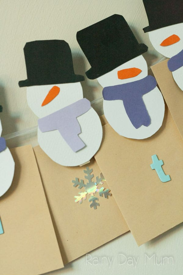 DIY Snowmen Advent Calendar