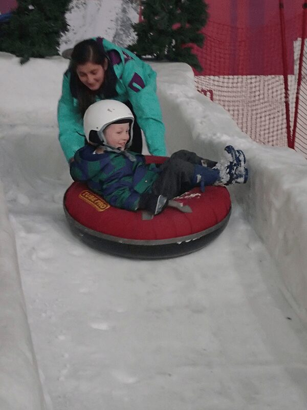 Make dreams of a White Christmas a reality with winter family travel and snow sports