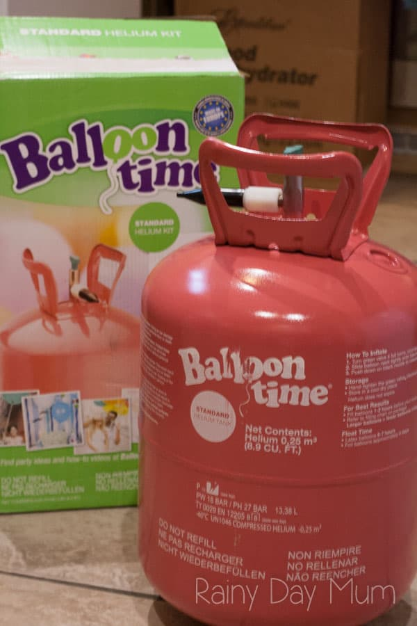 News Years Eve Balloon Game for Family Parties