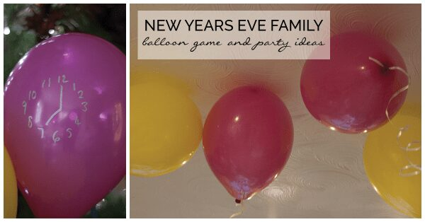Celebrate New Year with Kids and have fun whilst they learn with this fun Balloon Game that you all will get involved in including FREE activity cards