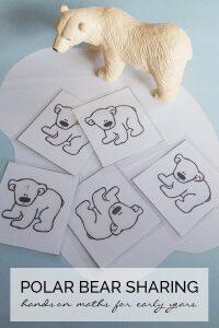 Polar Bear Sharing Activity for Early Years