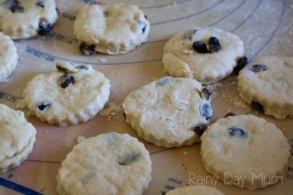 fruit scones for kids