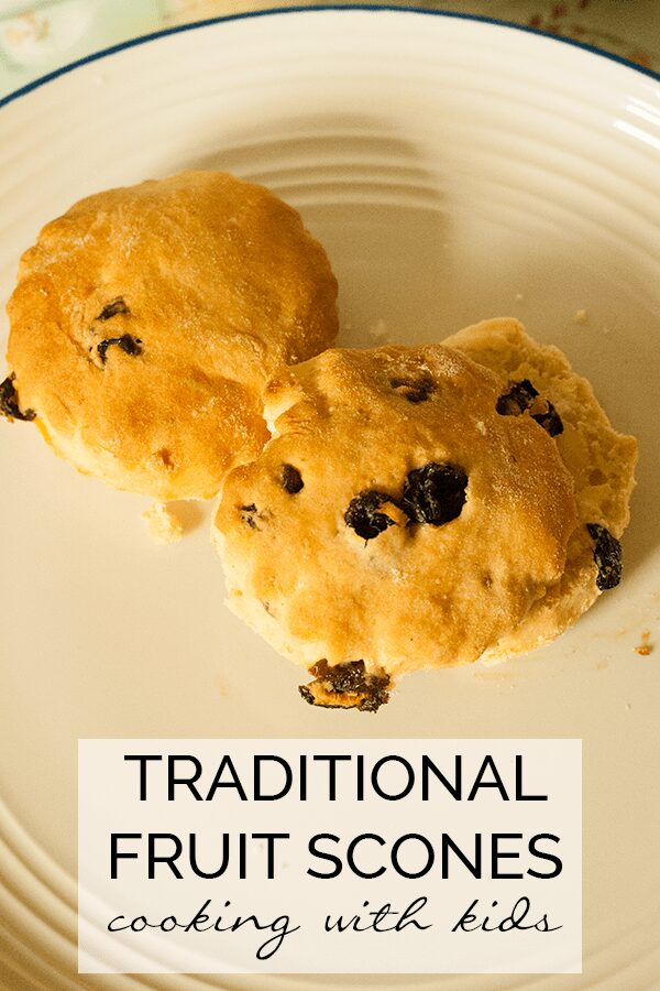 Tradition scone recipe for kids to make