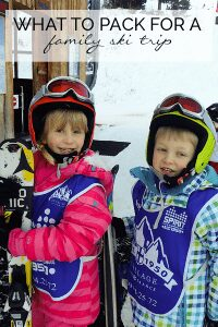 Heading off with the family skiing - get our real guide to what you actually need to pack when you go with your family