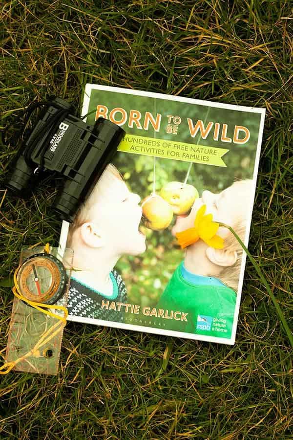 Born to be wild - a new book in partnership with the RSPB encouraging families of all ages to get outside and connect with FREE nature activities.