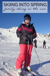 Why not try late season skiing in France with high resorts you can spend your days skiing whilst it's warm and as a bonus it's much better value