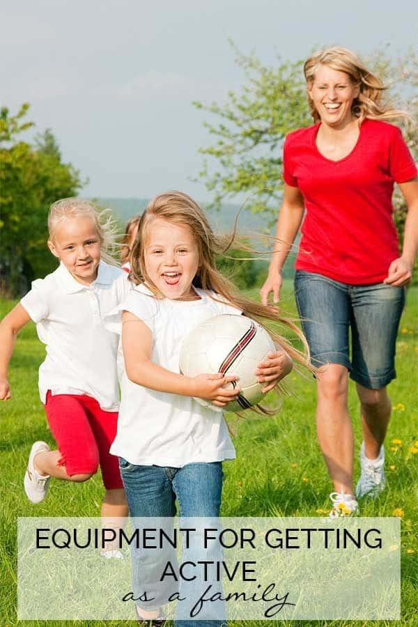 Get active as a family outdoors this summer with our top equipment to have fun together.