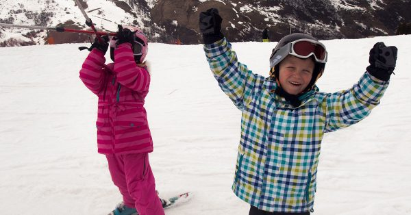 Les Menuires an ideal family friendly resort for skiing. With fun for the kids on and off the slopes
