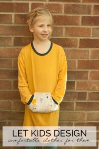 Let Kids Design Comfortable Clothes for Them