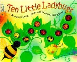 10 little ladybugs book