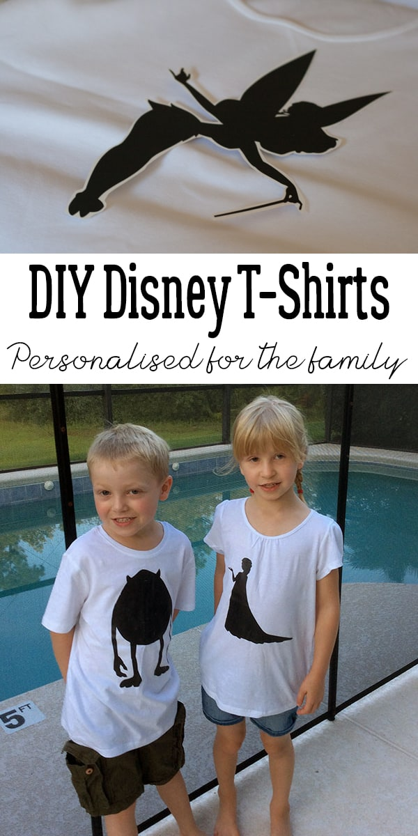 Make your trip to Walt Disney World as a family special by creating your own DIY Walt Disney World T-shirts for everyone in the family.