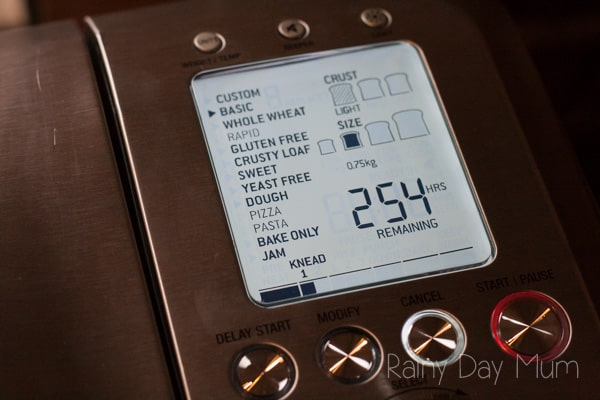 Fresh Bread at the touch of the button with Sage Appliances Custom Loaf Pro - put to the test