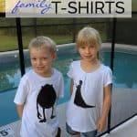 Make your trip to Walt Disney World as a family special by creating your own DIY Walt Disney Character T-shirts for everyone in the family.