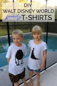 DIY Walt Disney World T-Shirts for the Family