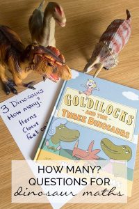 How Many? Questions for Dinosaur Maths