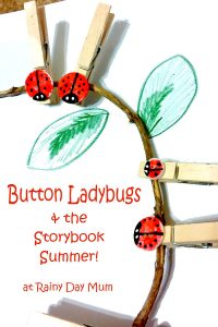 Button Ladybugs DIY Learning Resource for Early Years
