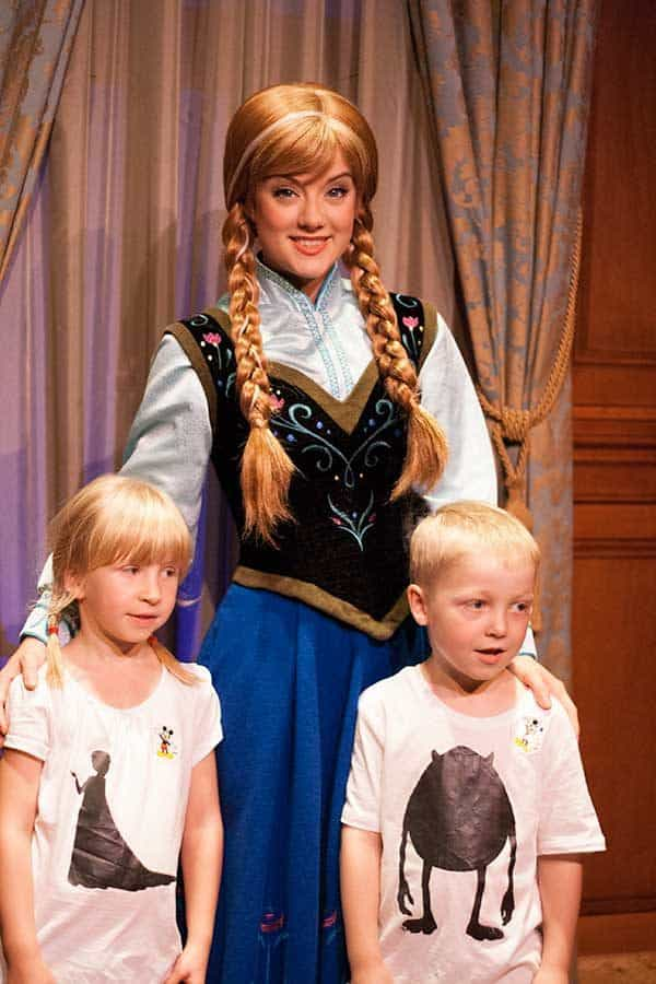 How to see Elsa and Anna at Walt Disney World when there are no available Fastpasses during your stay.