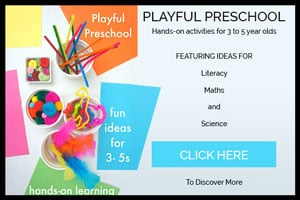 Playful Preschool: Hands-on Activities for Learning E-Book